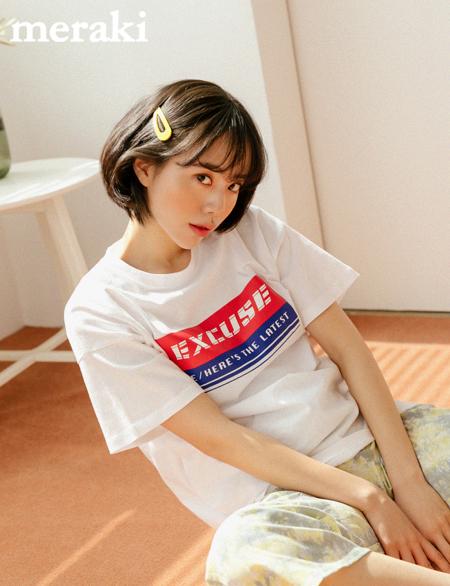 팬텀 나염 반팔 티셔츠 42798