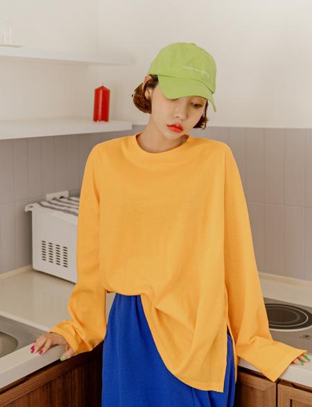 쎄렌트 코튼 트임 티셔츠 43352
