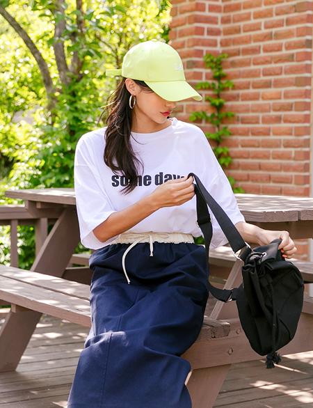 얀즈 루즈핏 나염 티셔츠 44229