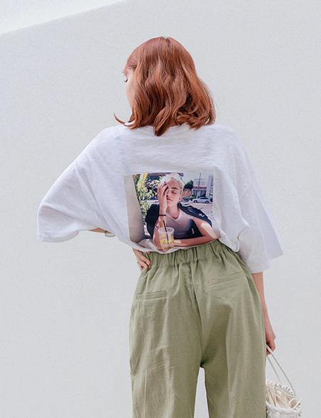 카르페논 나염 티셔츠 44511