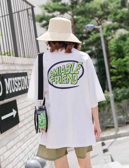 코스터 백포인트 티셔츠 44529