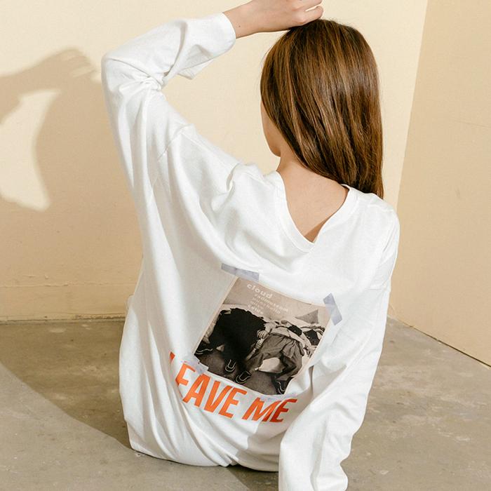 티레이 나염 티셔츠 45228