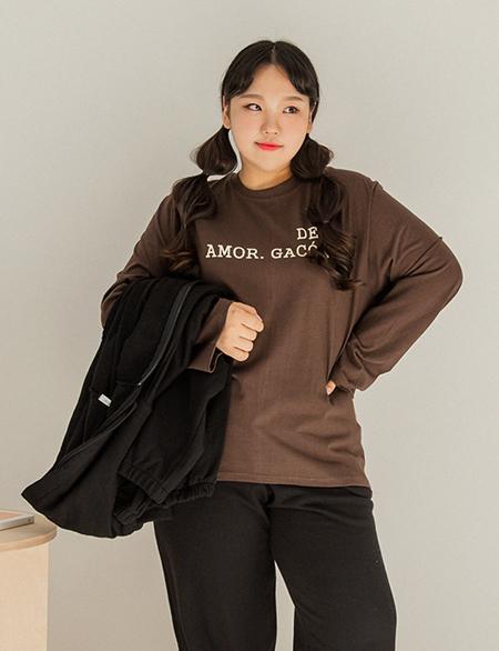 트벤키 레터링 티셔츠 45976