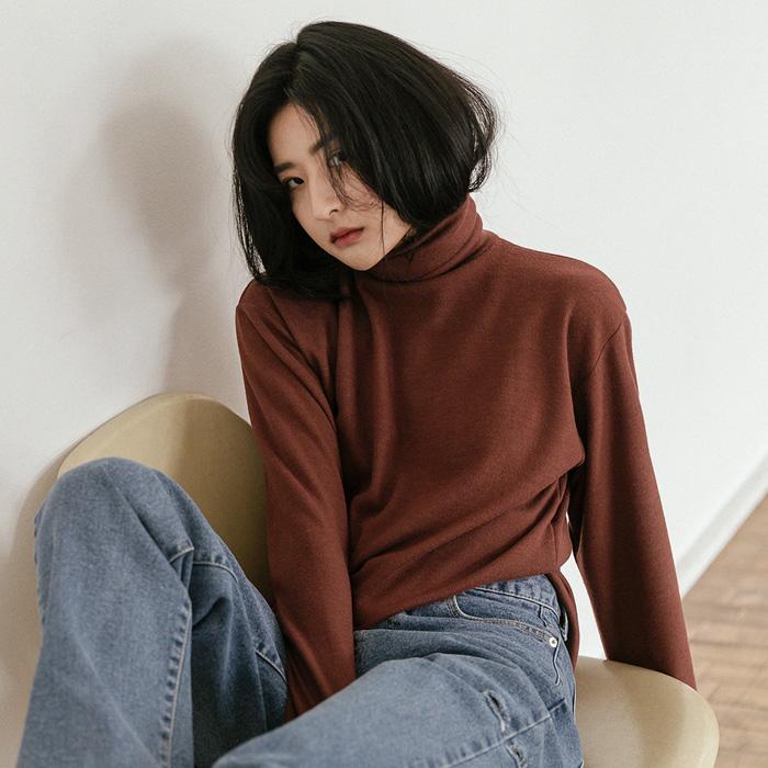 이안 기모 폴라 티셔츠 46403