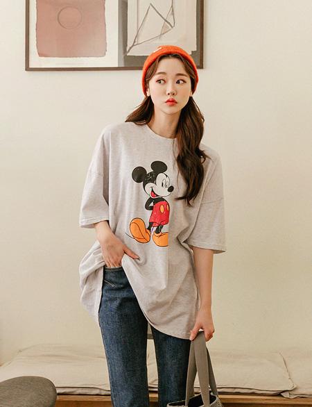 레돈트 빈티지 미키 티셔츠 47030