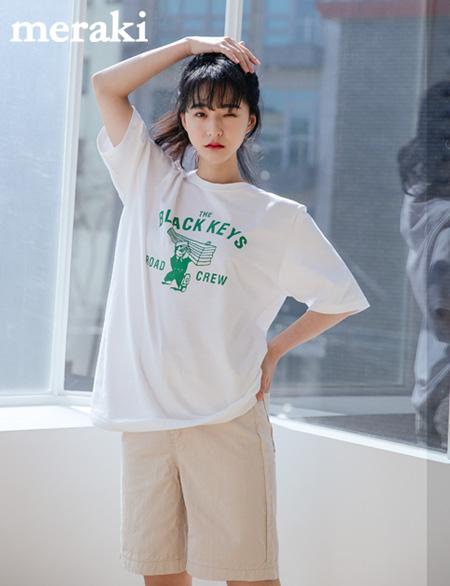 키블 나염 티셔츠 485