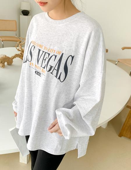 플버드 루즈핏 레터링 티셔츠 52776