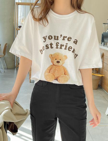 페리젠 곰돌이 반팔 티셔츠 53145