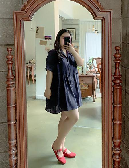 로아즌 셔츠 원피스 4