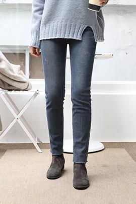 light denim_jeans [기모안감]