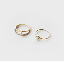 seed pear, ring