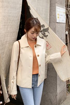 코코 숏 트렌치 자켓