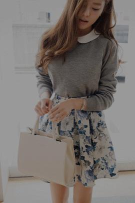 [3rd 예약특가 종료] loyal flower, skirt