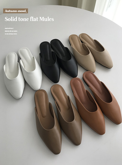 렌드 뮬 shoes (*5color)