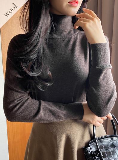 [울 wool 100] 셀리츠 knit (*7c