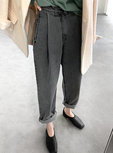 [md추천 ♥] 그레이 핀턱 pants
