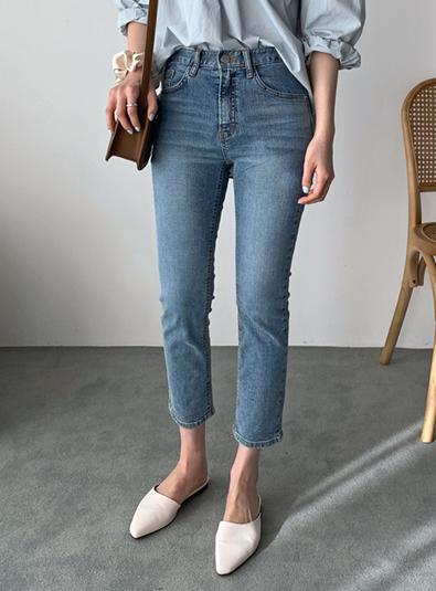 크롭진 pants