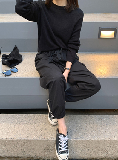 롱 조거 pants (*4color)