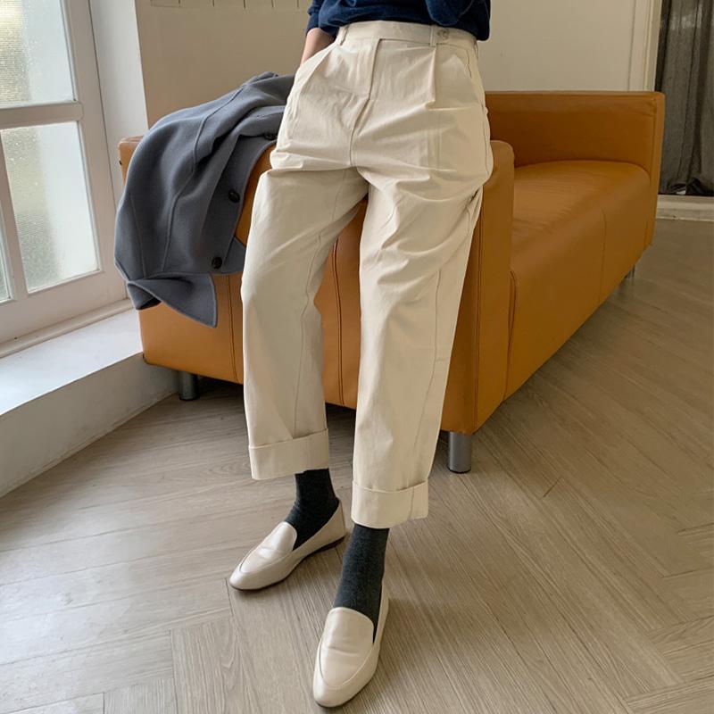 레먼스 핀턱 pants (*2color)