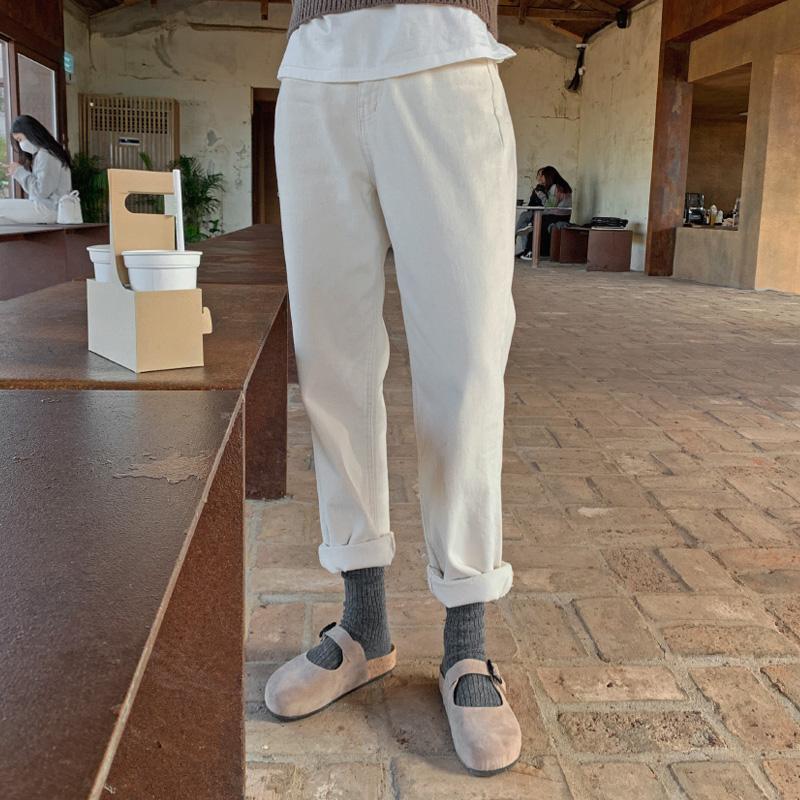 [기모안감] 레인스 pants