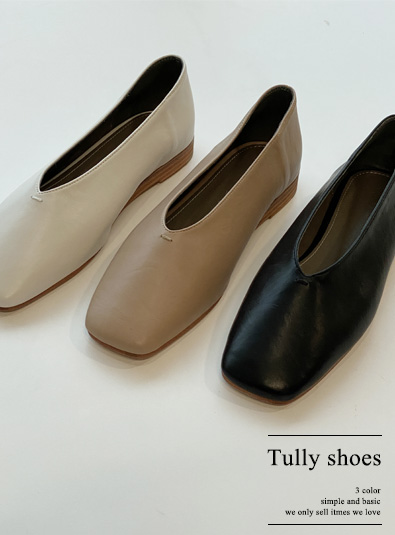 튤리 shoes (*3color)