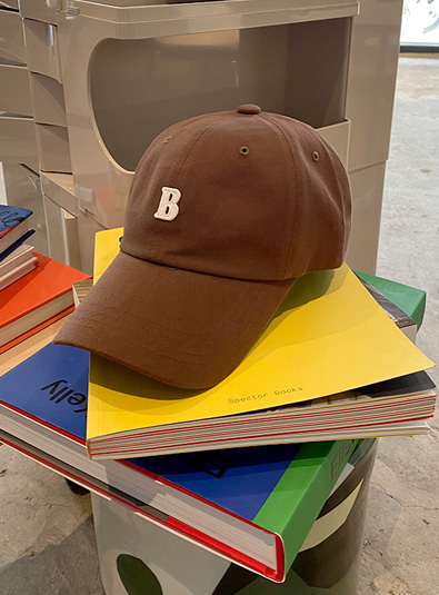 B자수 캡 hat (*6color)