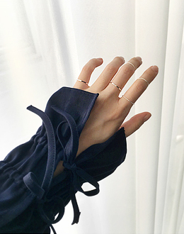 엘프닝 set ring (*3color)
