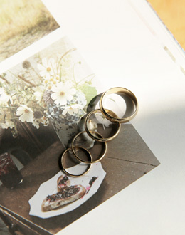 데바스 set ring (*2color)